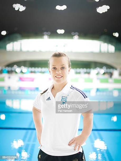 Paralympian swimmer Ellie Simmonds is photographed for the Independent on March 31 2014 in London England
