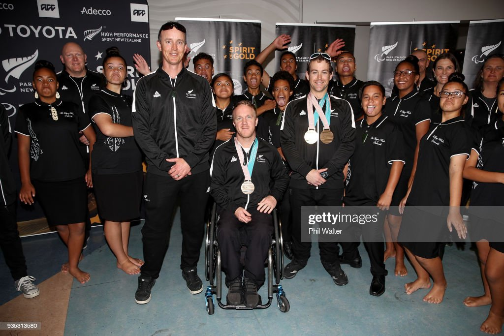 New Zealand Paralympic Winter Games Team Arrival