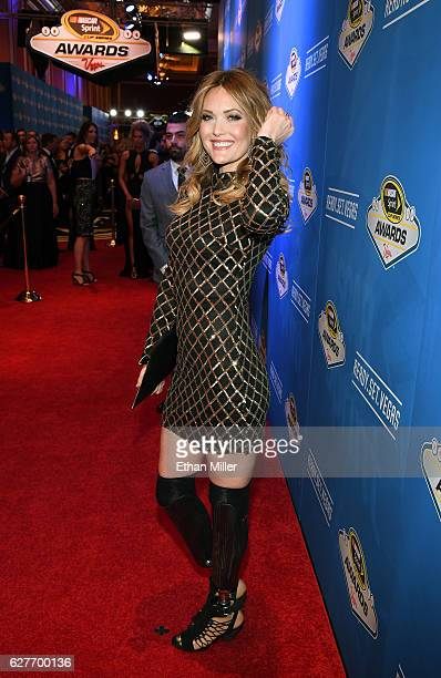 Paralympic athlete Amy Purdy attends the 2016 NASCAR Sprint Cup Series Awards at Wynn Las Vegas on December 2 2016 in Las Vegas Nevada