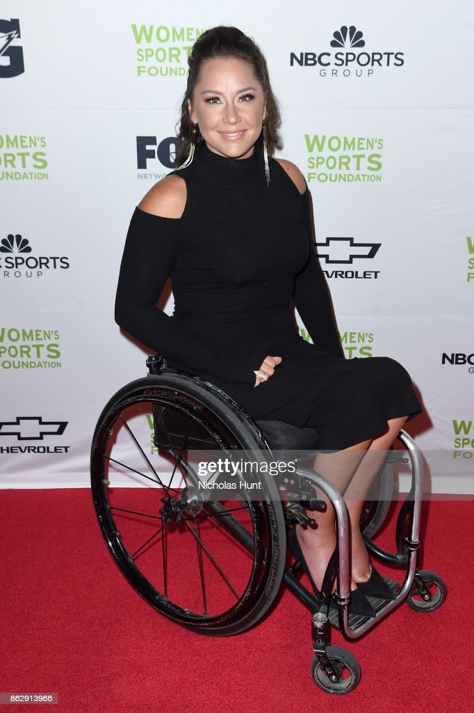 Paralympic basketball player and skier Alana Nichols attends The Women's Sports Foundation's 38th Annual Salute To Women in Sports Awards Gala on October 18, 2017 in New York City.