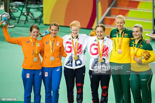 Sophie THORNHILL and tandem pilot Helen SCOTT won the gold medal in the Women's B 1000m Time Trial at velodrome in Rio de Janeiro on 9 September 2016...
