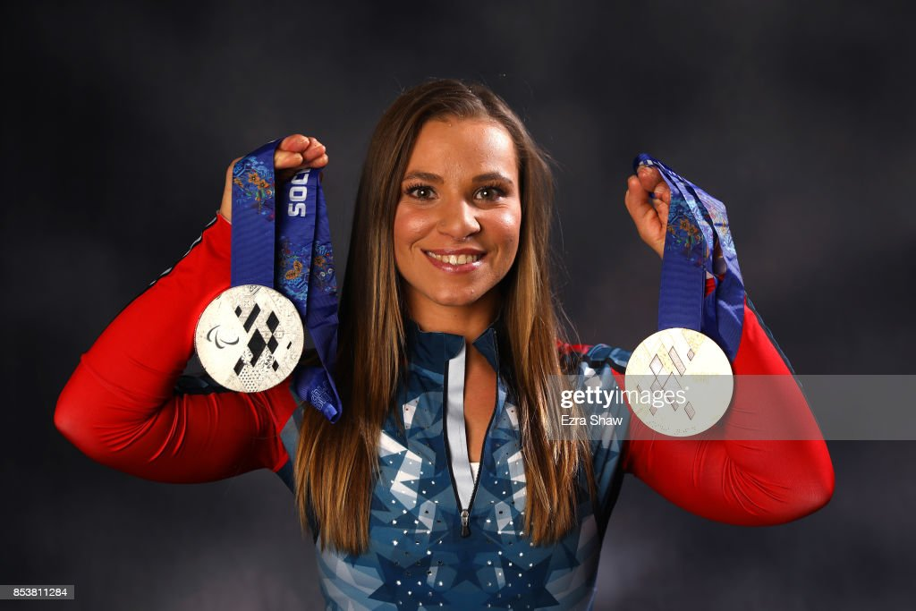 Paralympic Nordic Skiier Oksana Masters poses for a portrait during the Team USA Media Summit ahead of the PyeongChang 2018 Olympic Winter Games on September 25, 2017 in Park City, Utah.