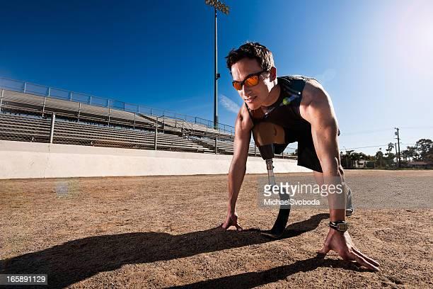 Paralympics-Runner