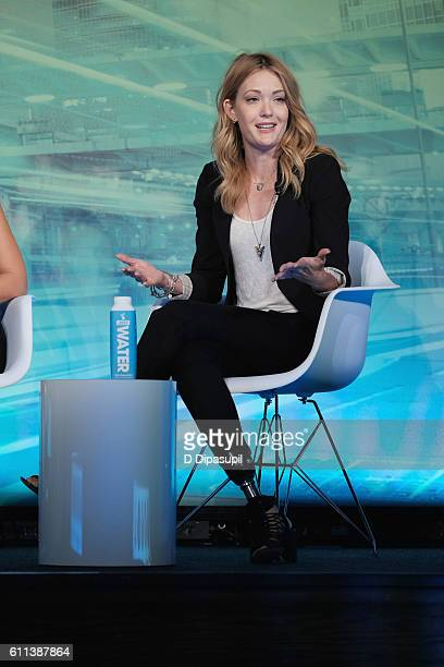 Paralympic Snowboard Bronze Medalist Dancing with the Stars Alum Amy Purdy speaks at the Why Are We Still Talking About This Women Sport in 2016...