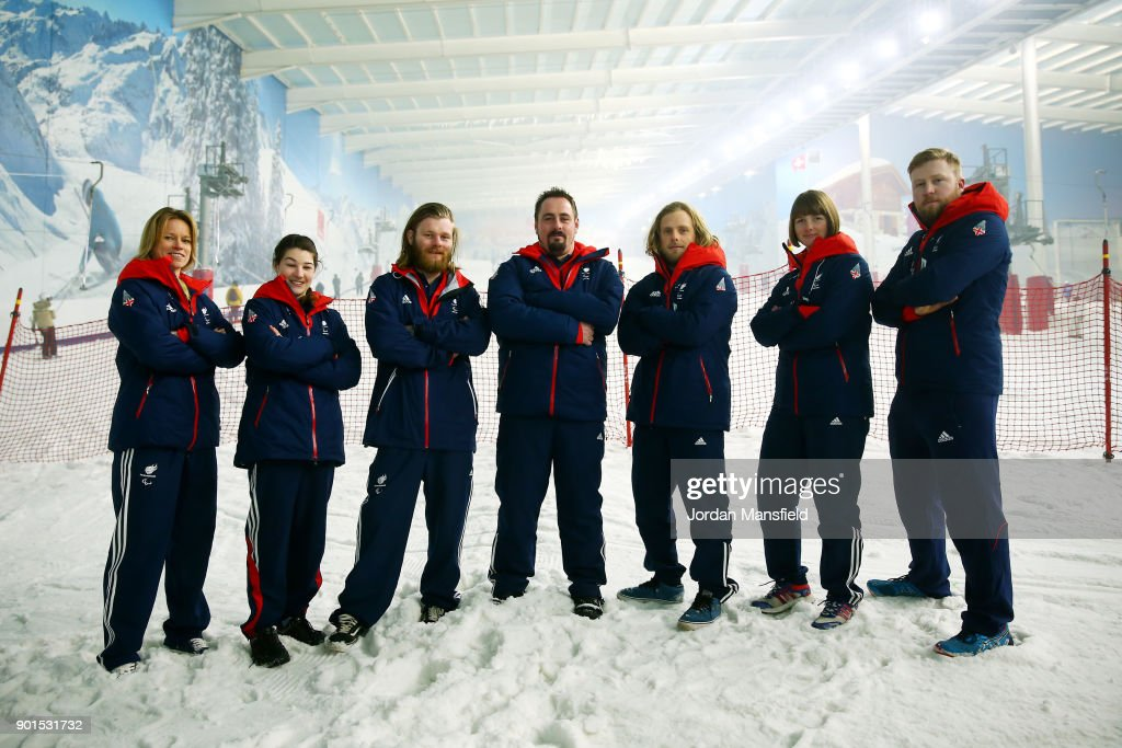 ParalympicsGB team announcement for PyeongChang 2018 - Alpine Skiing and Snowboard : News Photo