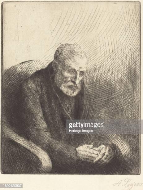 Paralytic . Artist Alphonse Legros.