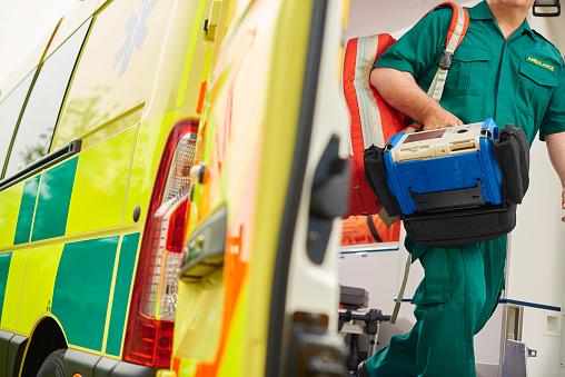 paramedic and ambulance 541564204