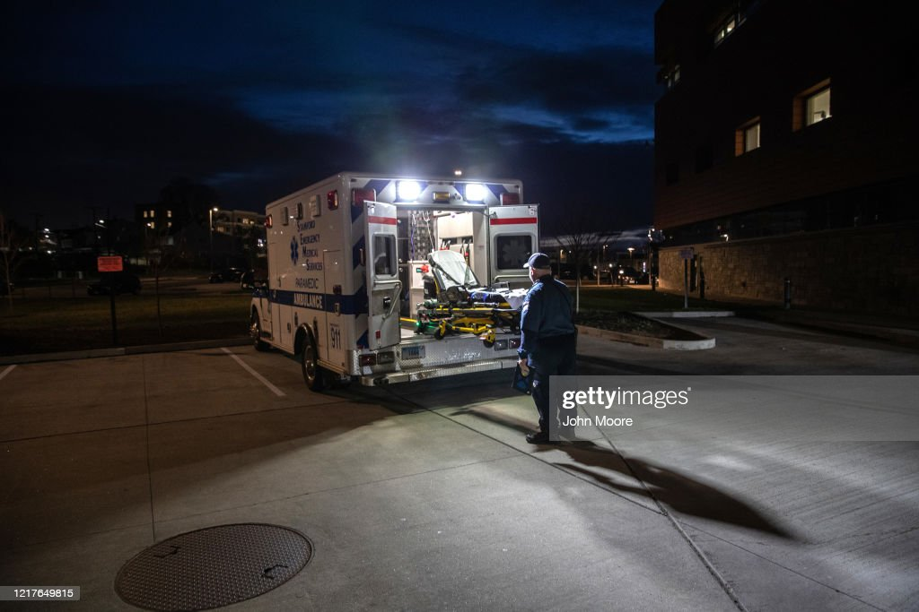 Tri-State EMS Workers Confront Growing Number Of Coronavirus Cases : News Photo