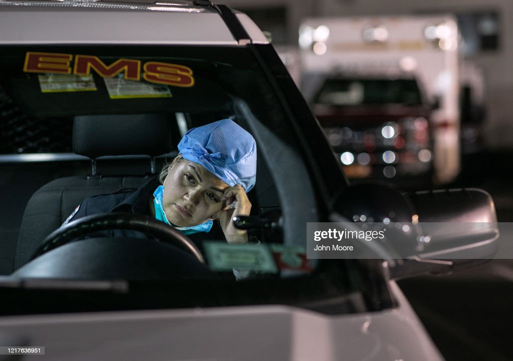 Tri-State EMS Workers Confront Growing Number Of Coronavirus Cases : ニュース写真