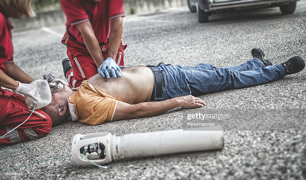 paramedic team : Stock Photo