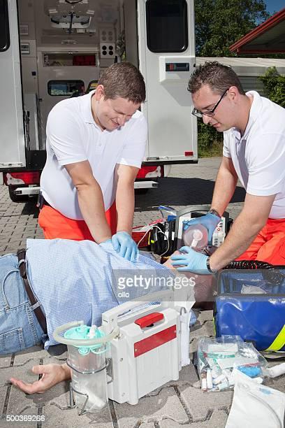 CPR Sanitäter medizinischen Notfall Erste Hilfe-Ausrüstung
