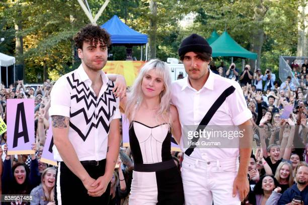 """Paramore performs live from Central Park as part of the Summer Concert Series on """"Good Morning America,"""" airing Friday, August 25, 2017 on the Walt..."""