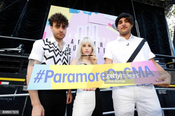 AMERICA Paramore performs live from Central Park as part of the Summer Concert Series on 'Good Morning America' airing Friday August 25 2017 on the...