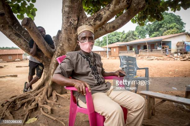 Paramount chief of Dixon chiefdom, Alimamy Fabeh Kondogbala II, discusses his prevention strategies to try and stop Ebola spreading to Sierra Leone,...