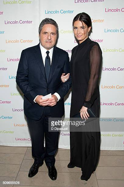 Paramount Pictures chairman and CEO Brad Grey and wife Cassandra Huysentruyt attend Lincoln Center's American Songbook Gala honoring Lorne Michaels...