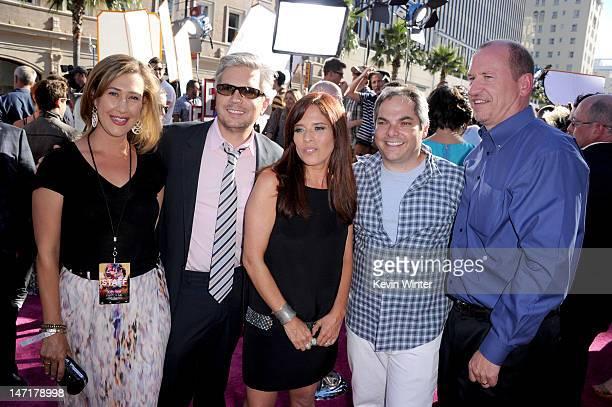 Paramount Pictures' president of digital entertainment Amy Powell codirectors Dan Cutforth Jane Lipsitz President Paramount Film Group Adam Goodman...