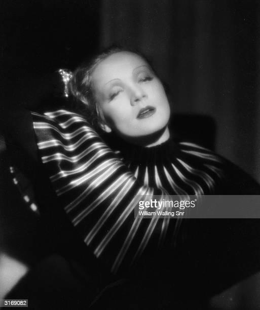Paramount star Marlene Dietrich .