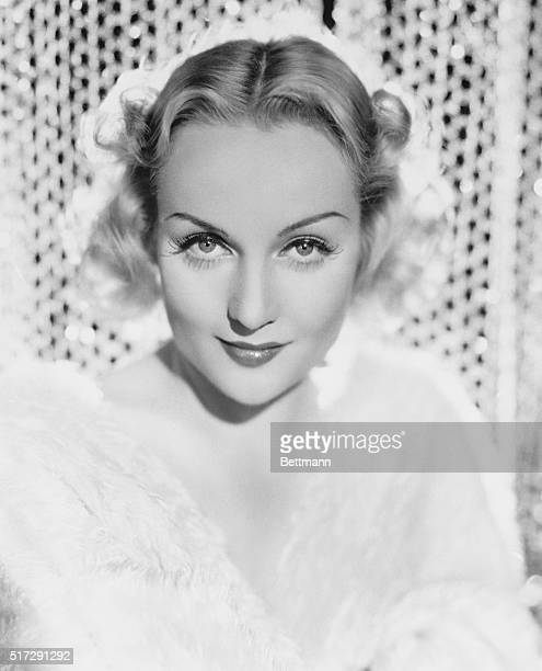Paramount studios famous film actress of the 1920s and 1930s Carole Lombard who died in a plane crash at the age of 34