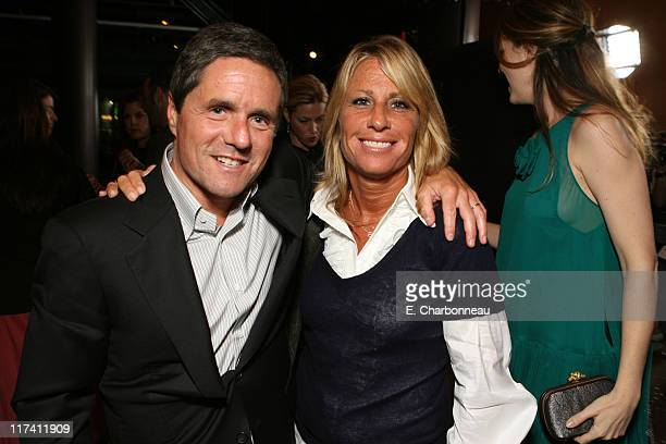 Paramount's Brad Grey and Cynthia PettDante during Los Angeles Premiere of DreamWorks The Last Kiss at Director's Guild of America in Los Angeles CA...