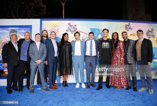 Paramount's Jim Gianopulos executive producer Tim Miller screenwriter Josh Miller screenwriter Pat Casey producer Toby Ascher Natasha Rothwell Ben...