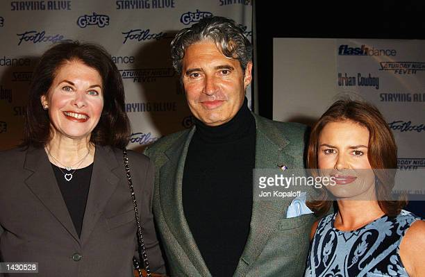 Paramount's Sherry Lansing actor Michael Nouri and actress Roma Downey attend the Celebration of Paramount Studio's 90th Anniversary with the release...