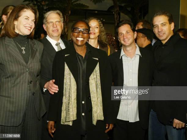 Paramount's Sherry Lansing, Viacom's Jonathan Dolgen, with co- producers Afeni Shakur , Karolyn Ali, David Gale and Van Toffler
