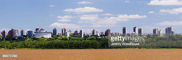 parana city skyline - parana state stock pictures, royalty-free photos & images