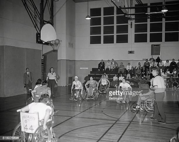 Paraplegic Basketball Game
