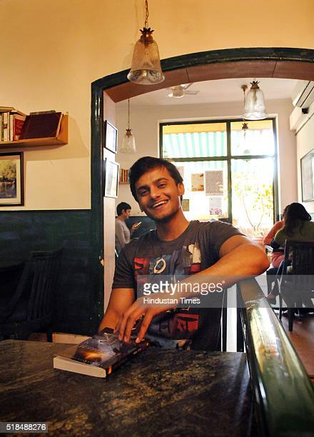 Paras Joshi Law student and an author of Equilibrium a science fiction novel during an exclusive interview with BrunchHindustan Times on February 13...