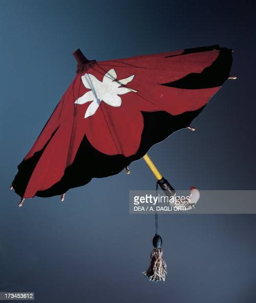 Parasol In Red And Black Felt Pictures Getty Images