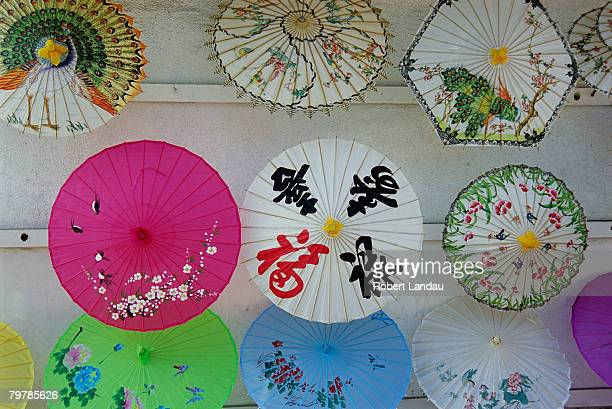 Parasols in Chinatown