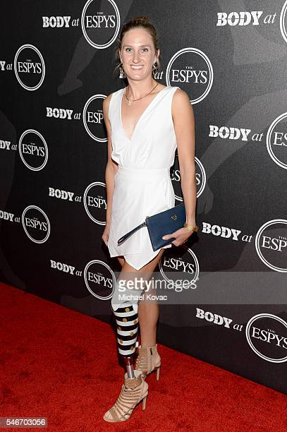 Paratriathlete Allysa Seely at the BODY at ESPYS Event on July 12th at Avalon Hollywood