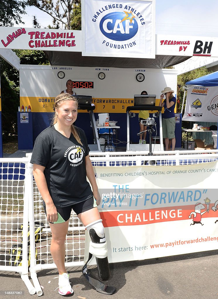 "The ""Pay It Forward"" Challenge Benefiting The Challenged Athletes Foundation : News Photo"