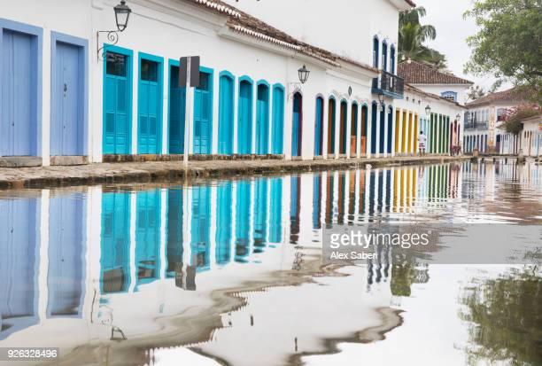 paraty, rio de janeiro, brazil - alex saberi stock pictures, royalty-free photos & images