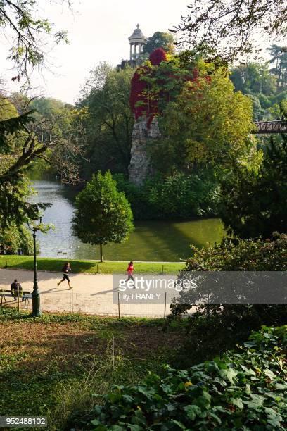 Parc des Buttes Chaumont 11 octobre 2015 Paris France