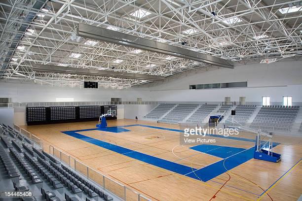 Parc Esportiu Llobregat Barcelona Spain Architect Alvaro Siza Parc Esportiu Llobregat Sports Hall