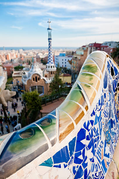 """""""Parc Guell, Barcelona"""""""