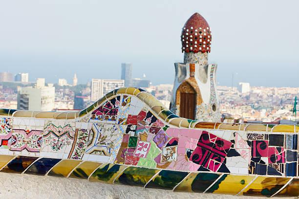 Parc Guell. Barcelona. Spain.