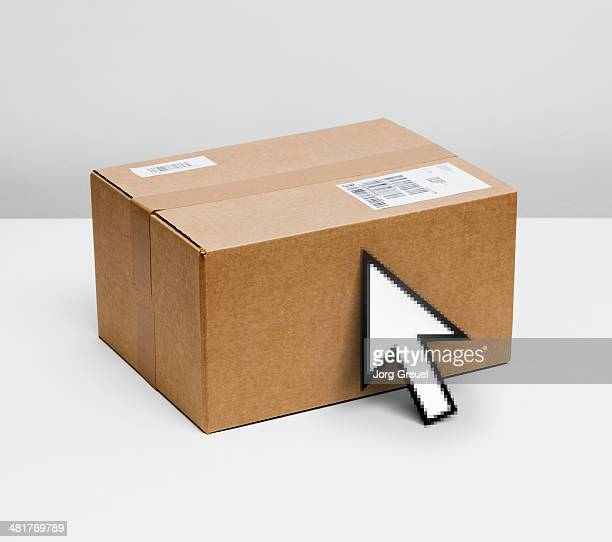 Parcel and mouse pointer