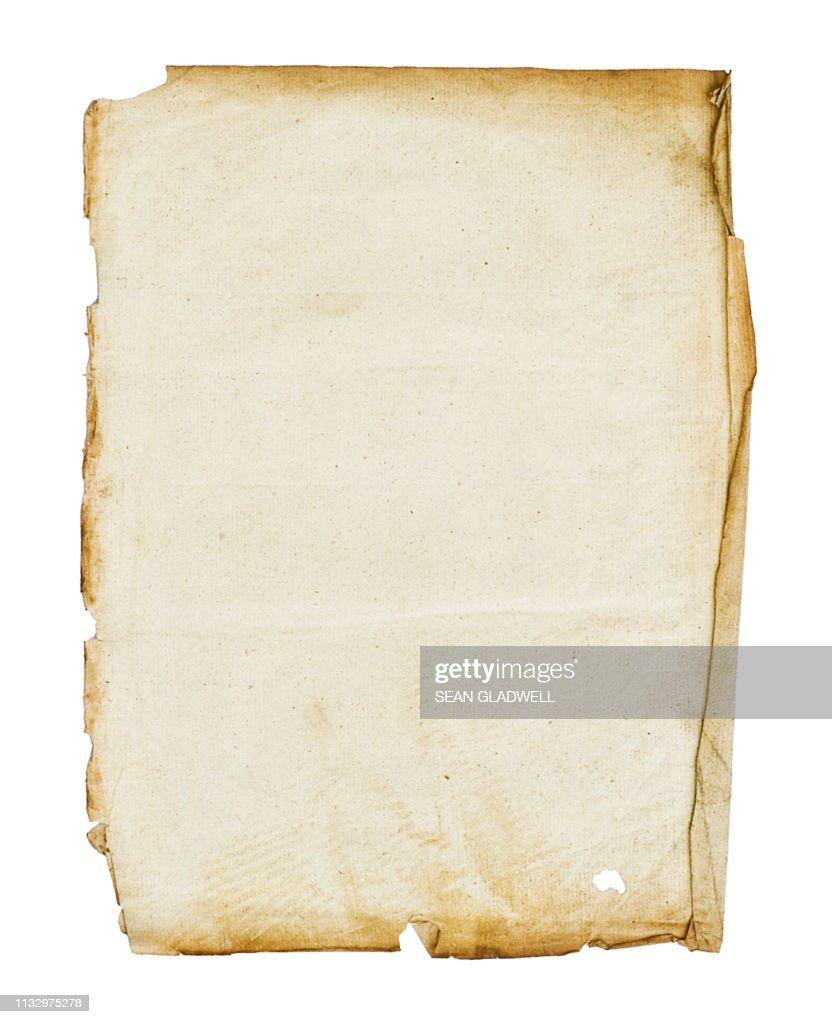 Parchment paper : Stock Photo