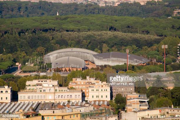parco dela musica - performing arts center stock pictures, royalty-free photos & images