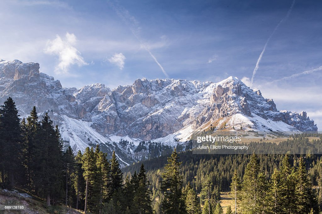 Parco Naturale Puez Odle in the Dolomites, Italy. : Stock Photo