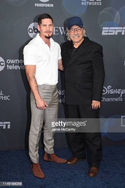 Pardo and Edward James Olmos attend the ABC Walt Disney Television Upfront on May 14 2019 in New York City