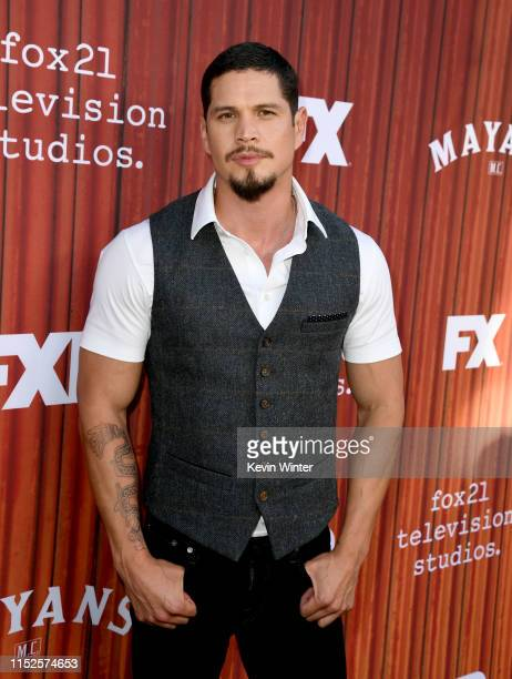 D Pardo arrives at FX's Mayans FYC Event at NeueHouse Hollywood on May 29 2019 in Los Angeles California