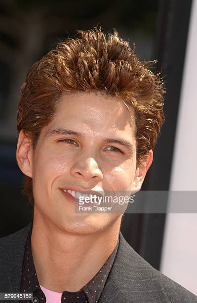 JD Pardo arrives at the premiere of A Cinderella Story