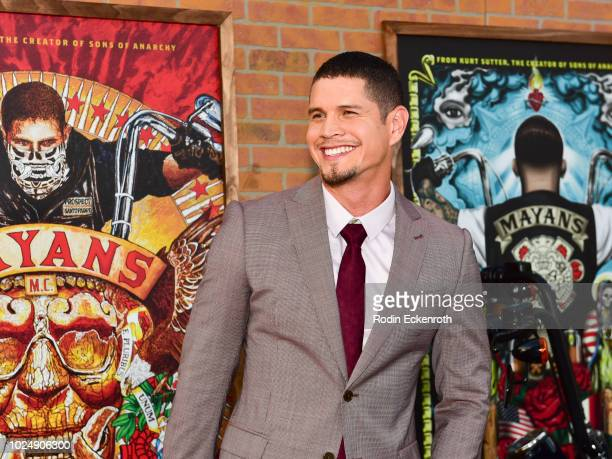 Pardo arrives at the premiere of FX's Mayans MC at TCL Chinese Theatre on August 28 2018 in Hollywood California