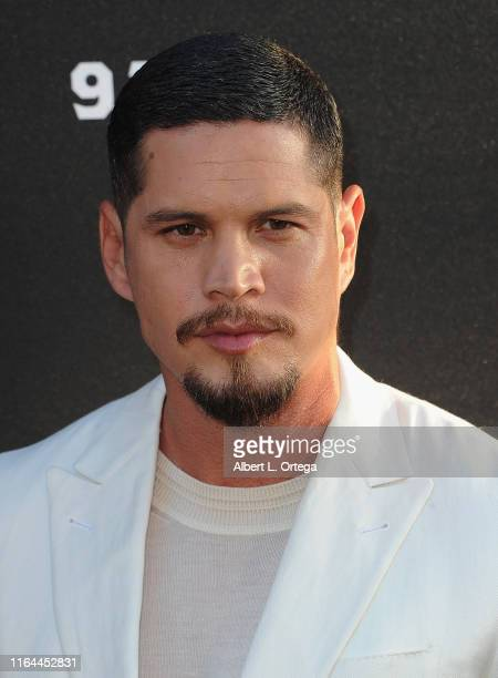 Pardo arrives for the Premiere Of FX's Mayans MC Season 2 held at ArcLight Cinerama Dome on August 27 2019 in Hollywood California