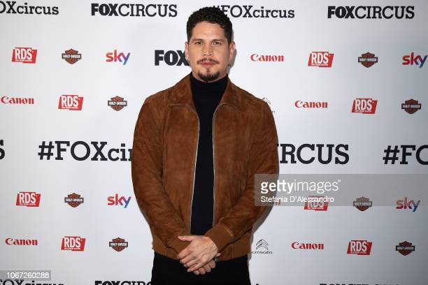 Pardo attends Fox Circus event at BASE Milano on December 1 2018 in Milan Italy
