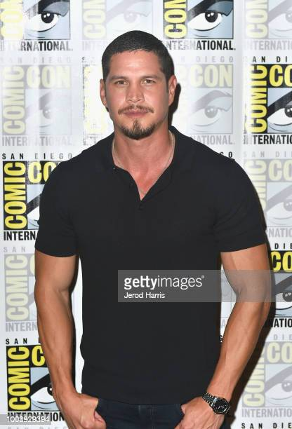 D Pardo attends FX's Mayans MC press line during ComicCon International 2018 at Hilton Bayfront on July 22 2018 in San Diego California