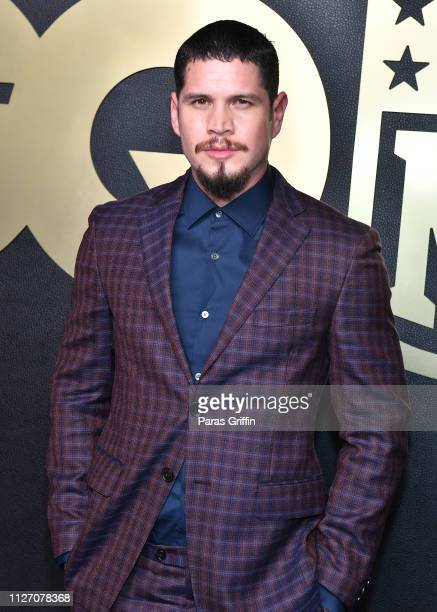 Pardo attends GQ 2019 NFL Honors After Party at Gallery 874 on February 02 2019 in Atlanta Georgia